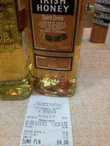 Whisky Bushmills Irish Honey  @ Tesco (Warszawa)