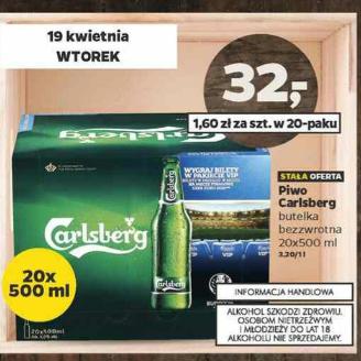 Carlsberg 20 sztuk @ Netto