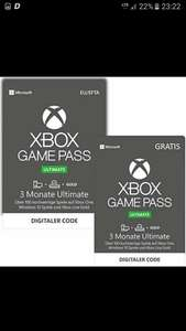 Xbox game pass ultimate.