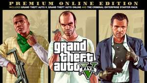Grand Theft Auto V Premium Edition PL PS4