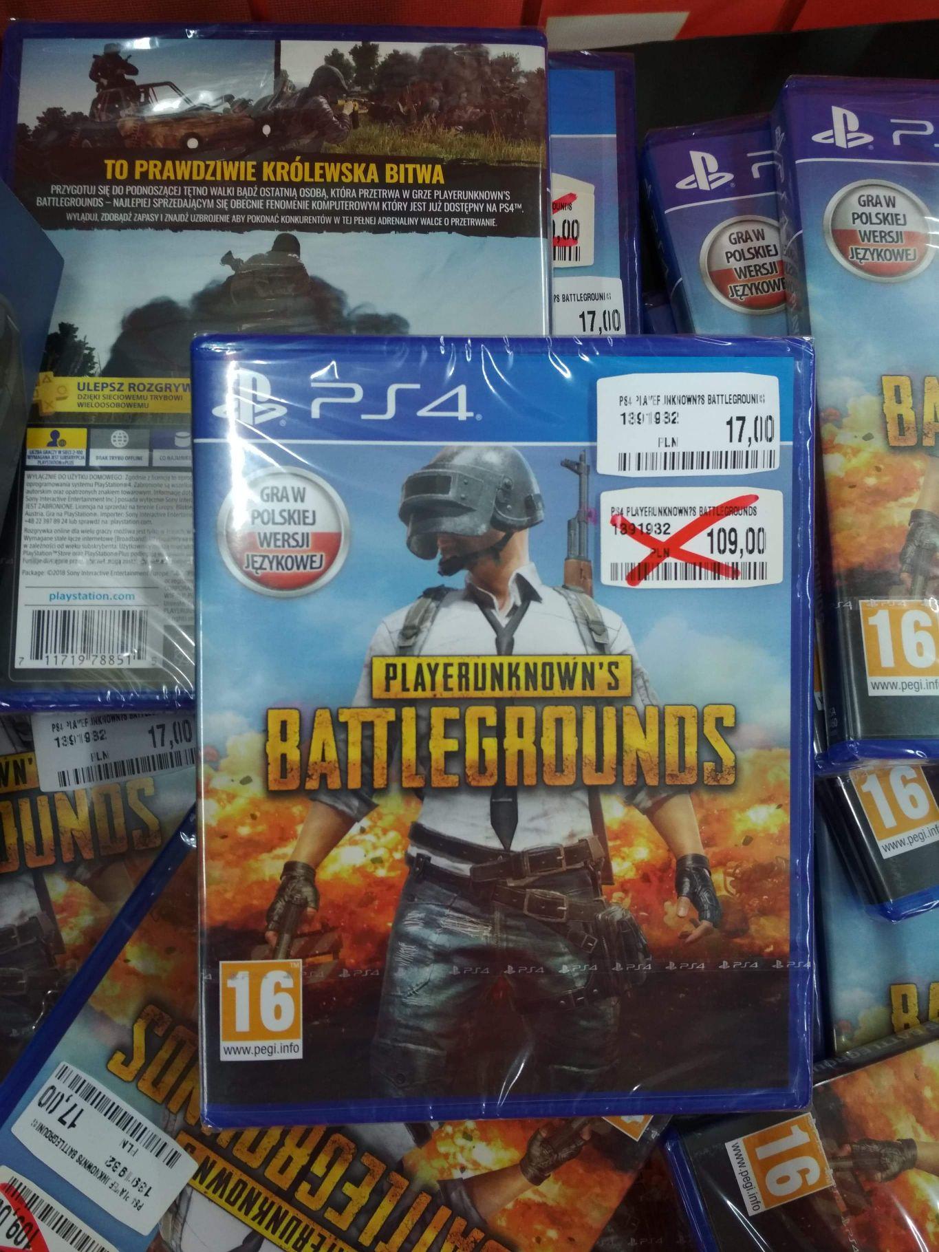 Gry PS4 Wyprzedaż (Pubg, Battlefield, Fifa) Media Markt Gocław
