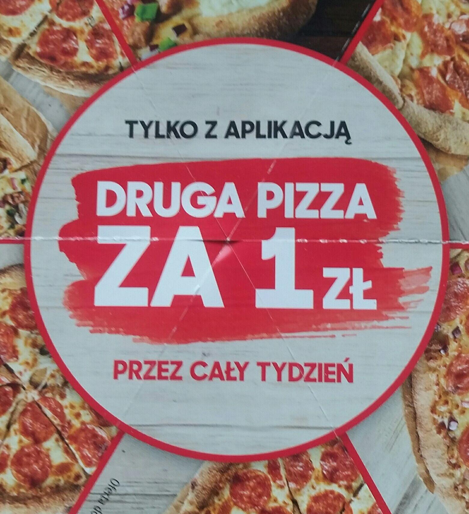 Druga pizza za 1 zł Pizza Hut tylko z aplikacją