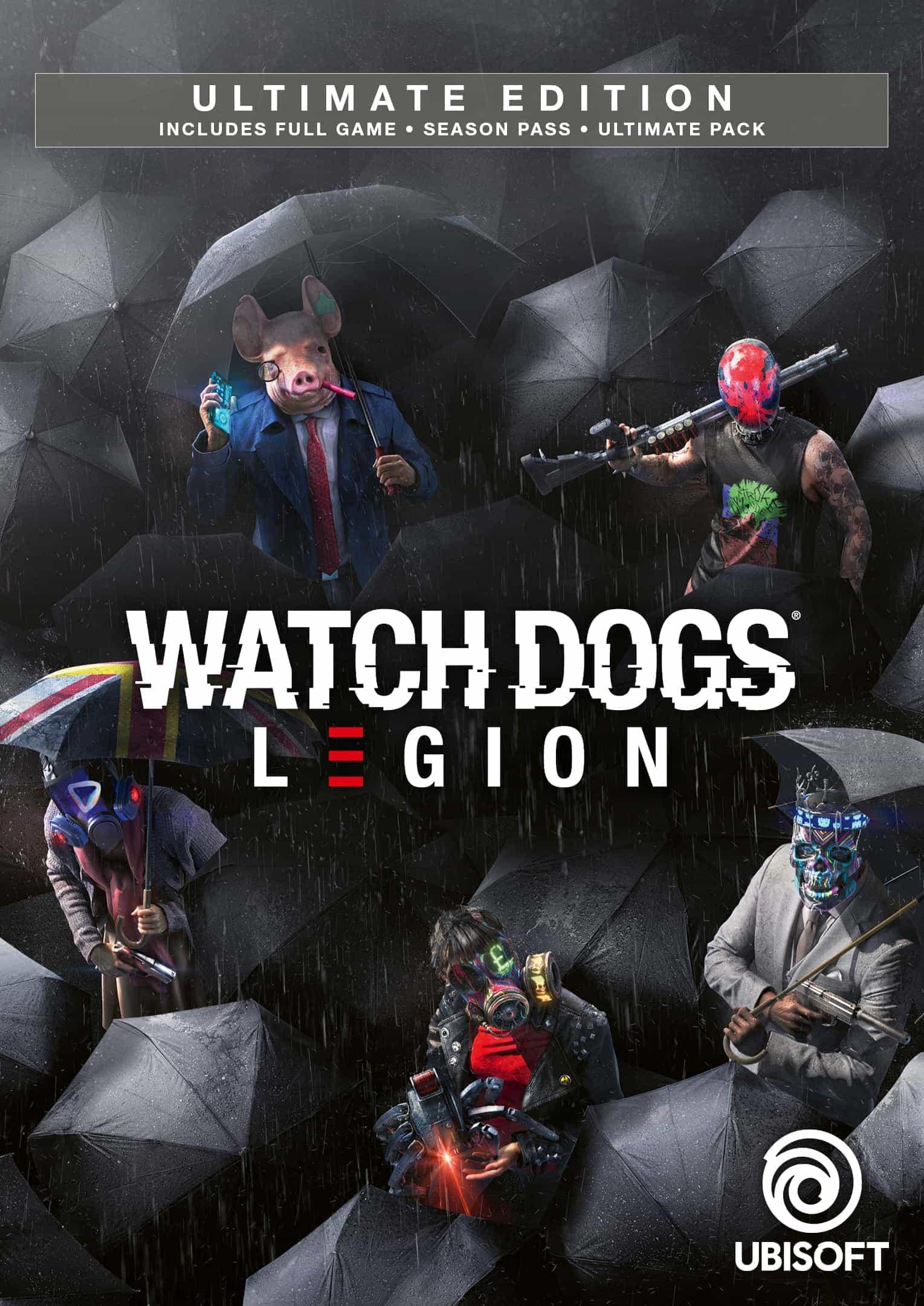 Watch Dogs Legion Edycja Ultimate -77% taniej przed premierą