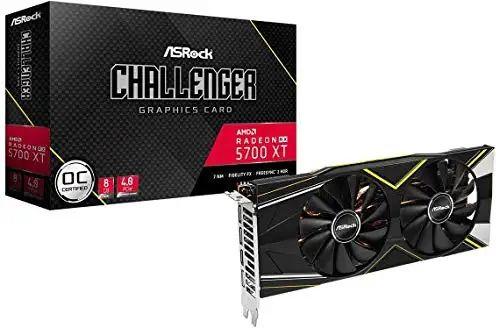AMD ASRock RX 5700 XT challenger OC karta graficzna amazon.de