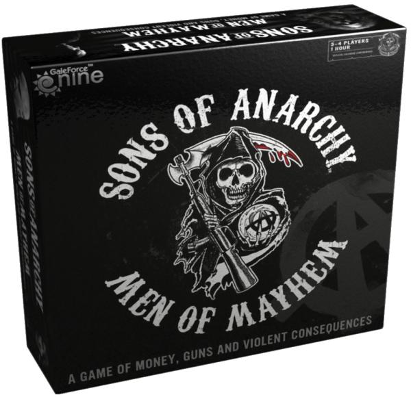 GRA PLANSZOWA SONS OF ANARCHY: MEN OF MAYHEM, 60% taniej (80zł z dostawą) @Cdp
