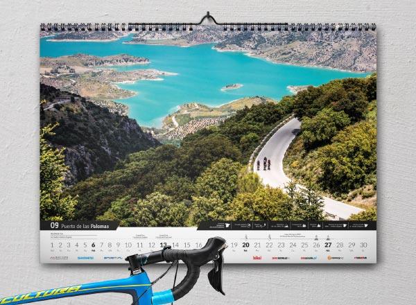 Kalendarz kolarski (rowerowy) The Climb 2020 - przedsprzedaż