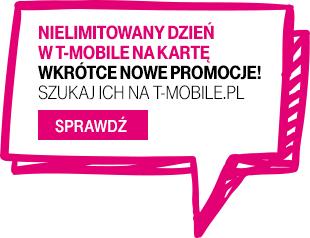 20 kwietnia - nielimitowane SMSy do wszystkich sieci za damo @ T-Mobile (na kartę)