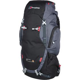 Berghaus Trailhead 65 Rucksack w kolorze black/carbon - fajny plecak w dobrej cenie na kilkudniowe wyprawy