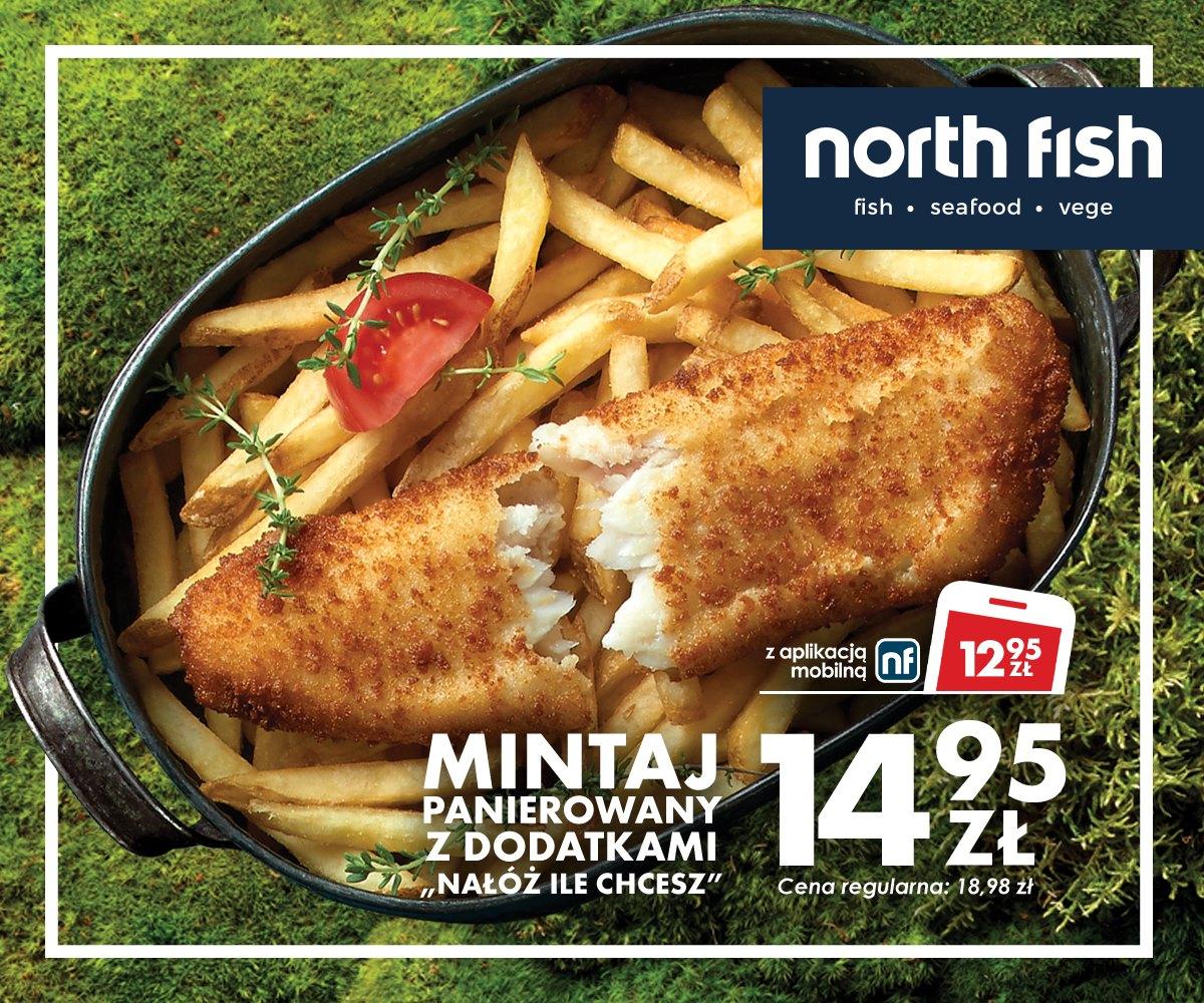 """[North Fish] mintaj panierowany z dodatkami """"nałóż ile chcesz"""""""