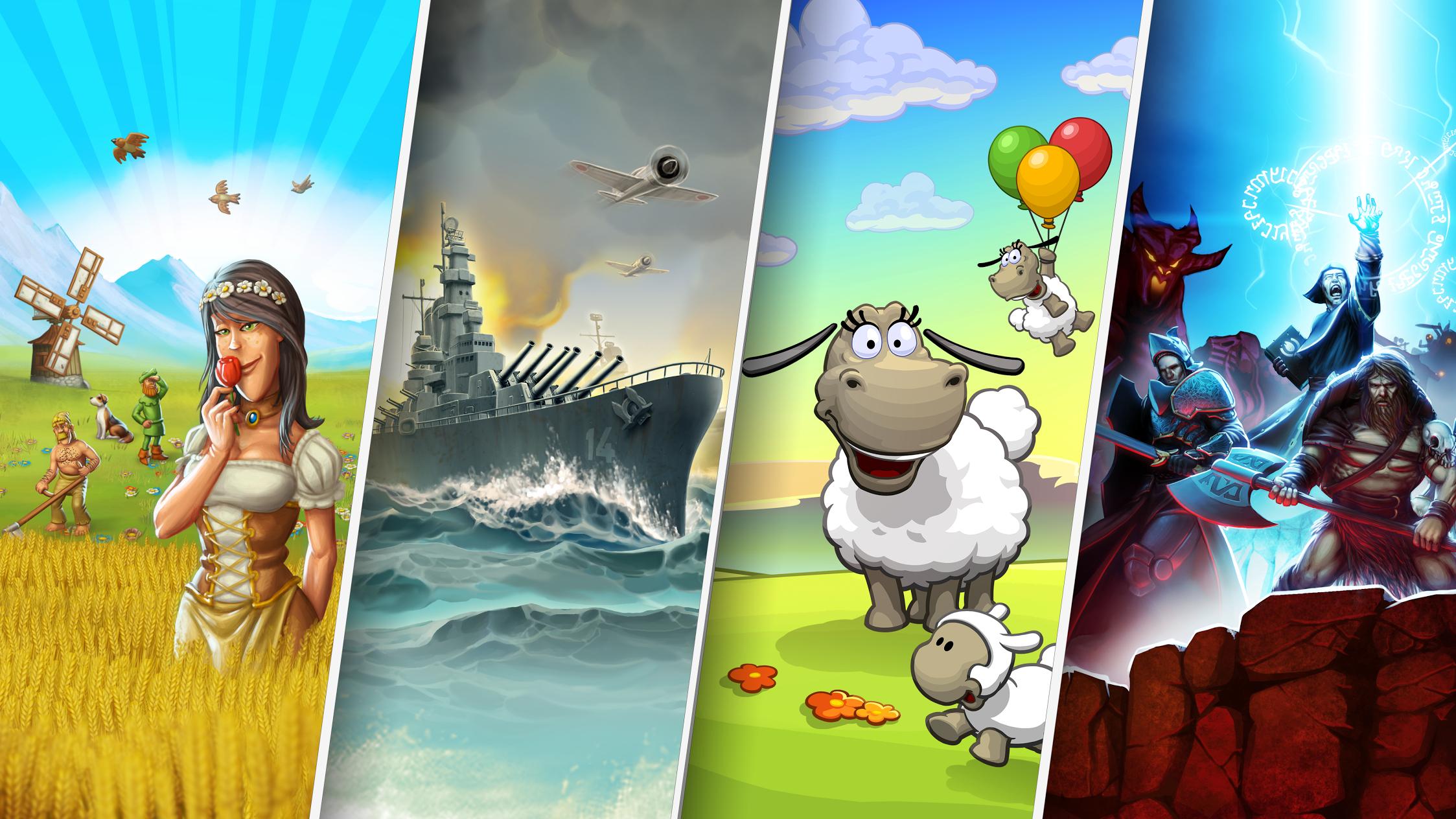 Townsmen premium i inne Handy Games @google play