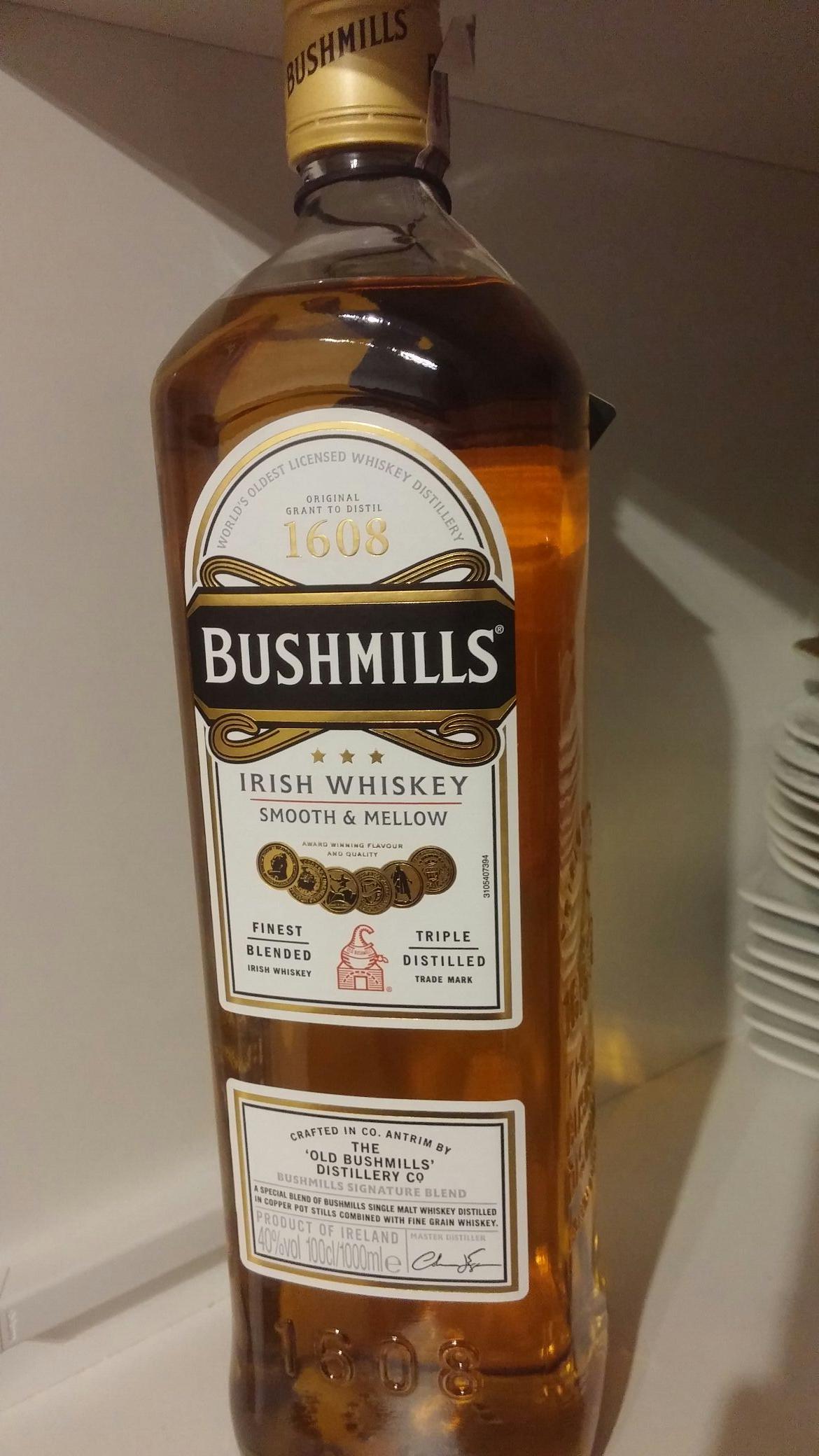 Whiskey Bushmills 1L Biedronka