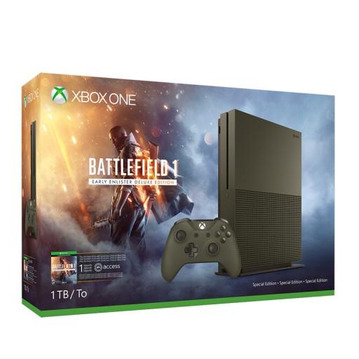 NOWA Konsola XBOX ONE S 1TB Battlefield 1 LIMITED