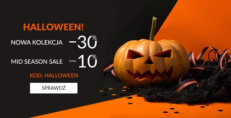 - 40% Halloweenowe rabaty na obuwie