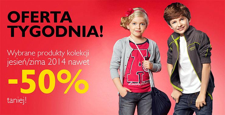 Bluzeczki za 7,99zł i inne okazje - rabaty do 50% na wybrane produkty z kolekcji @ 5.10.15