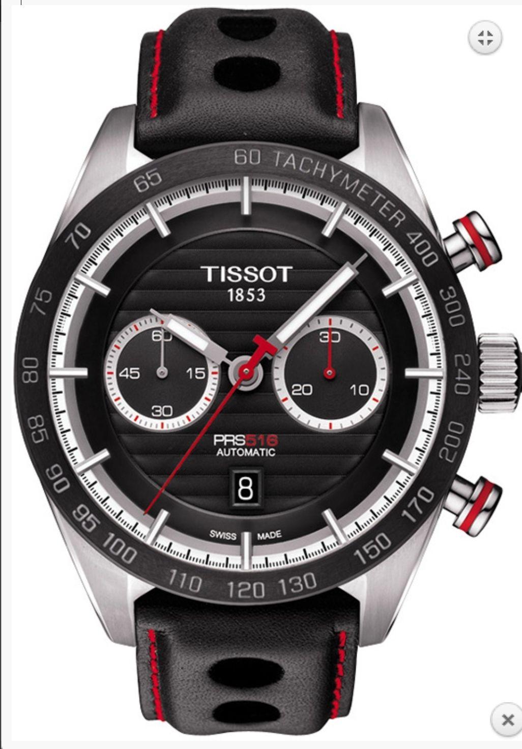 Zegarek TISSOT PRS 516 AUTOMATIC CHRONOGRAPH -30% wysylka z Polski !