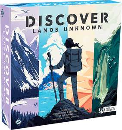 gra planszowa Discover: Lands Unknown w wersji ang. za 99,95 zł na Rebel