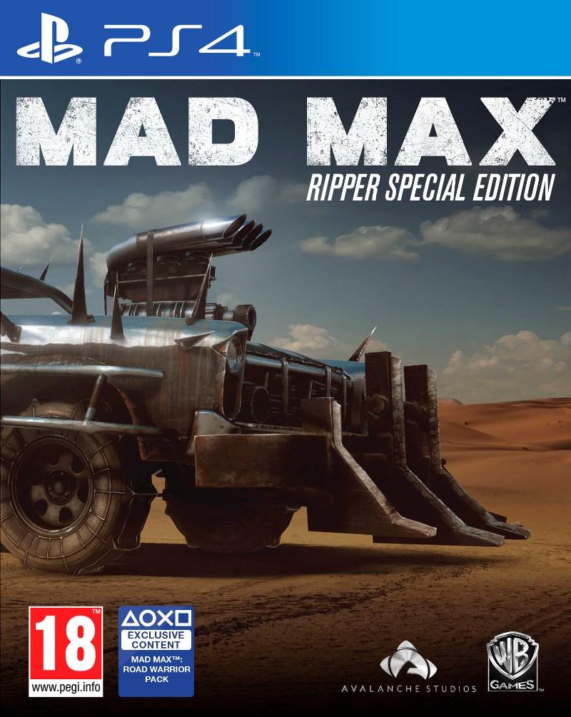 Mad Max Edycja Specjalna The Ripper [Xbox One, Playstation 4] PL! za 149,99zł @ Muve