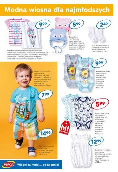 Hity Pepco: odzież dla dzieci, ramka na zdjęcia
