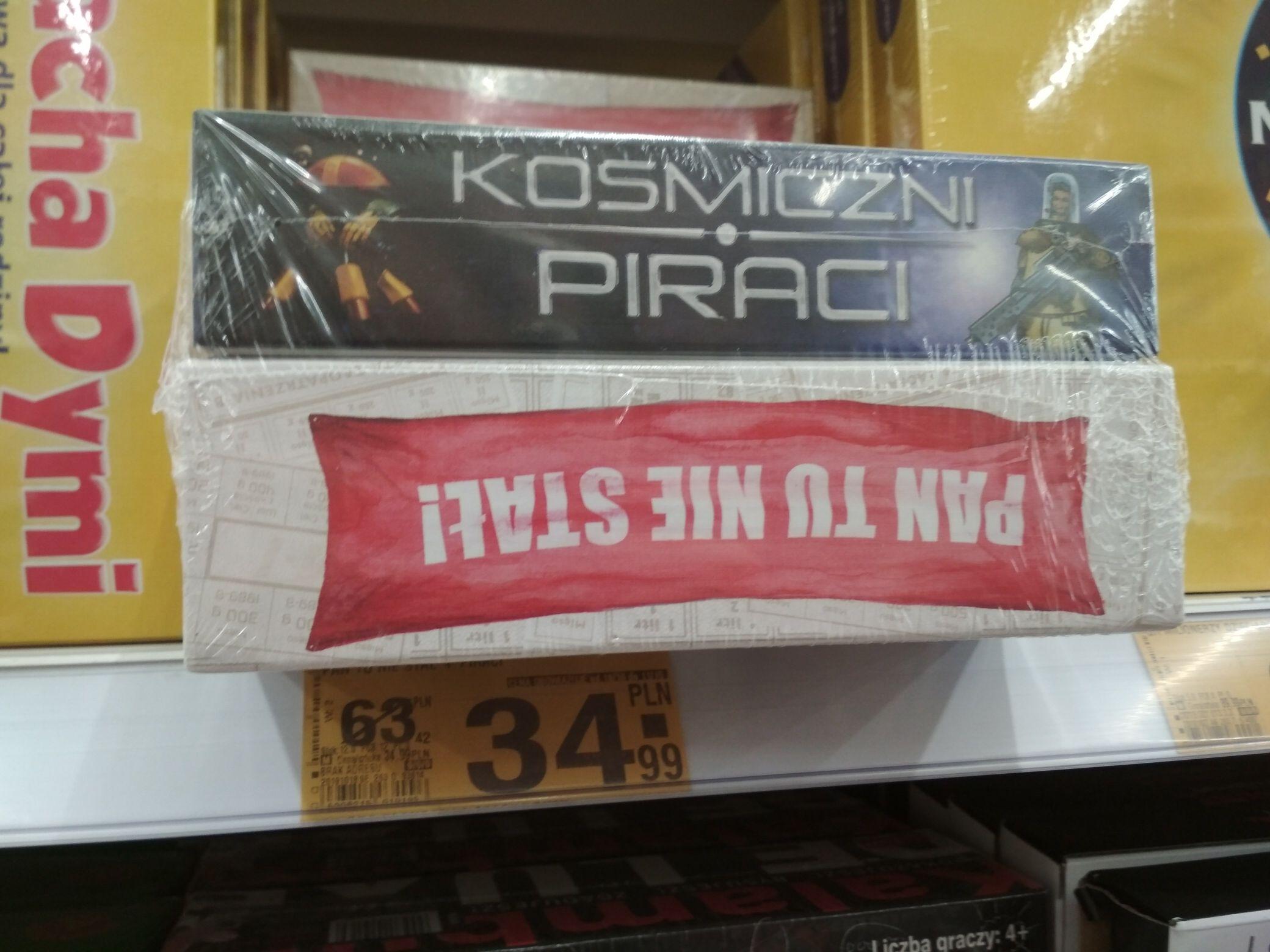 Gry planszowe 2 w cenie 1 - Pan tu nie stał + Kosmiczni piraci