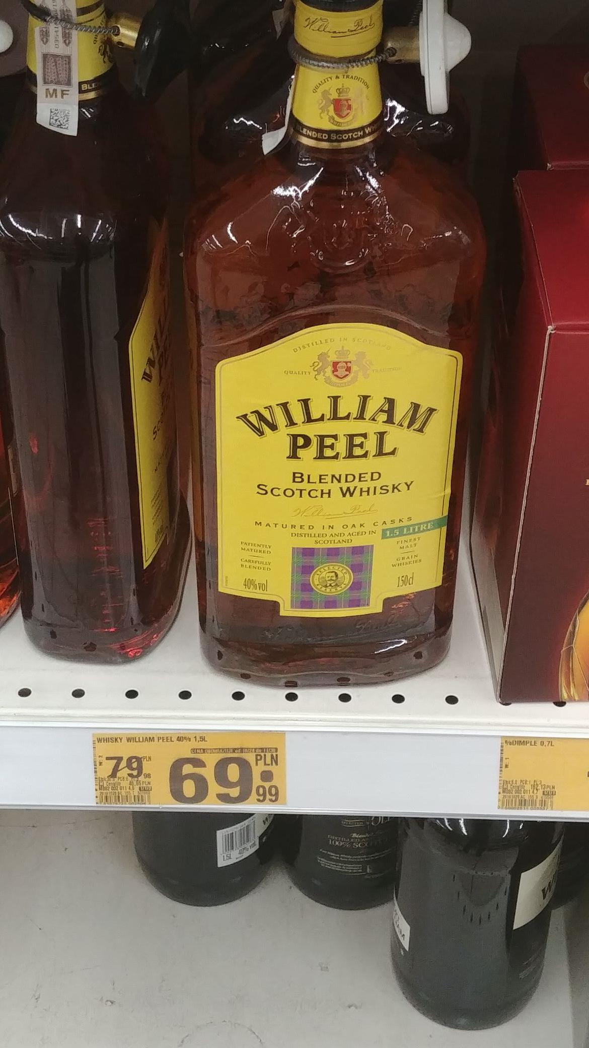 Whisky William Peel 1,5 L