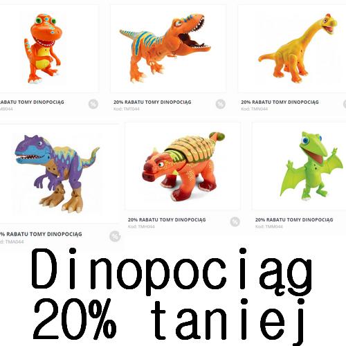 Dinozaury na baterie o 20% taniej