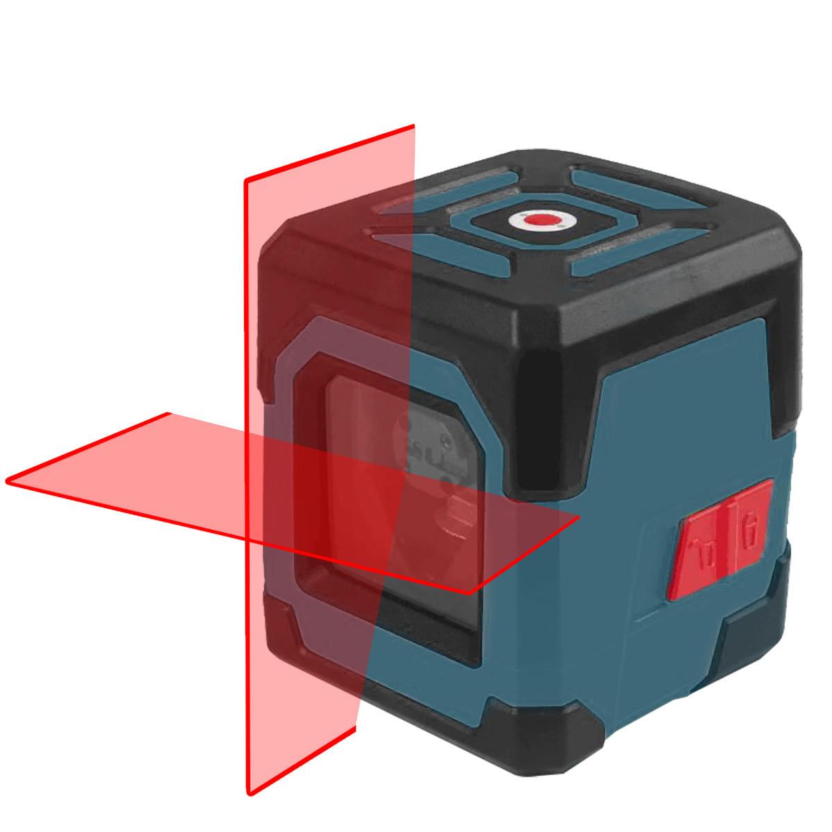 Poziomica laserowa krzyżowa samopoziomująca HANMATEK LV1