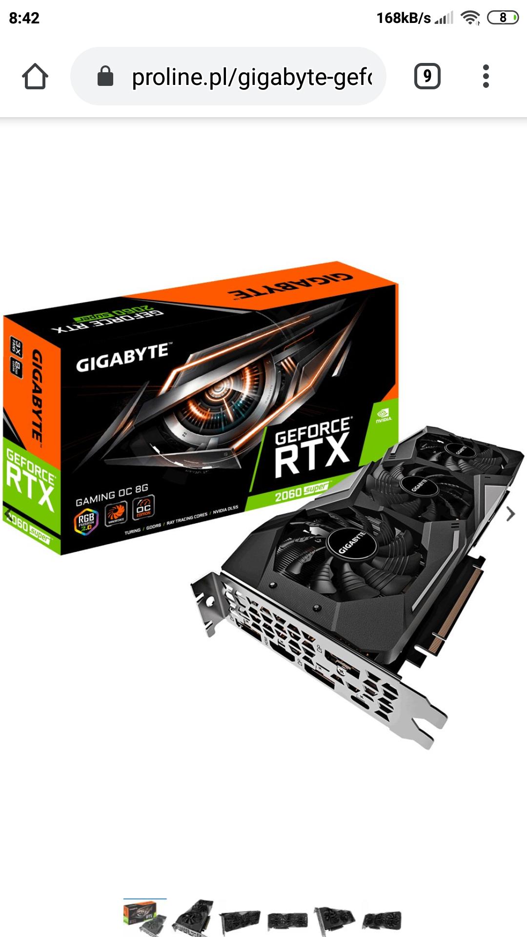 Rtx 2060 super gigabyte