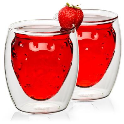 Szklanka termiczna Strawberry Hot&Cool 250 ml, 2 szt. cena z dostawą Inpost.