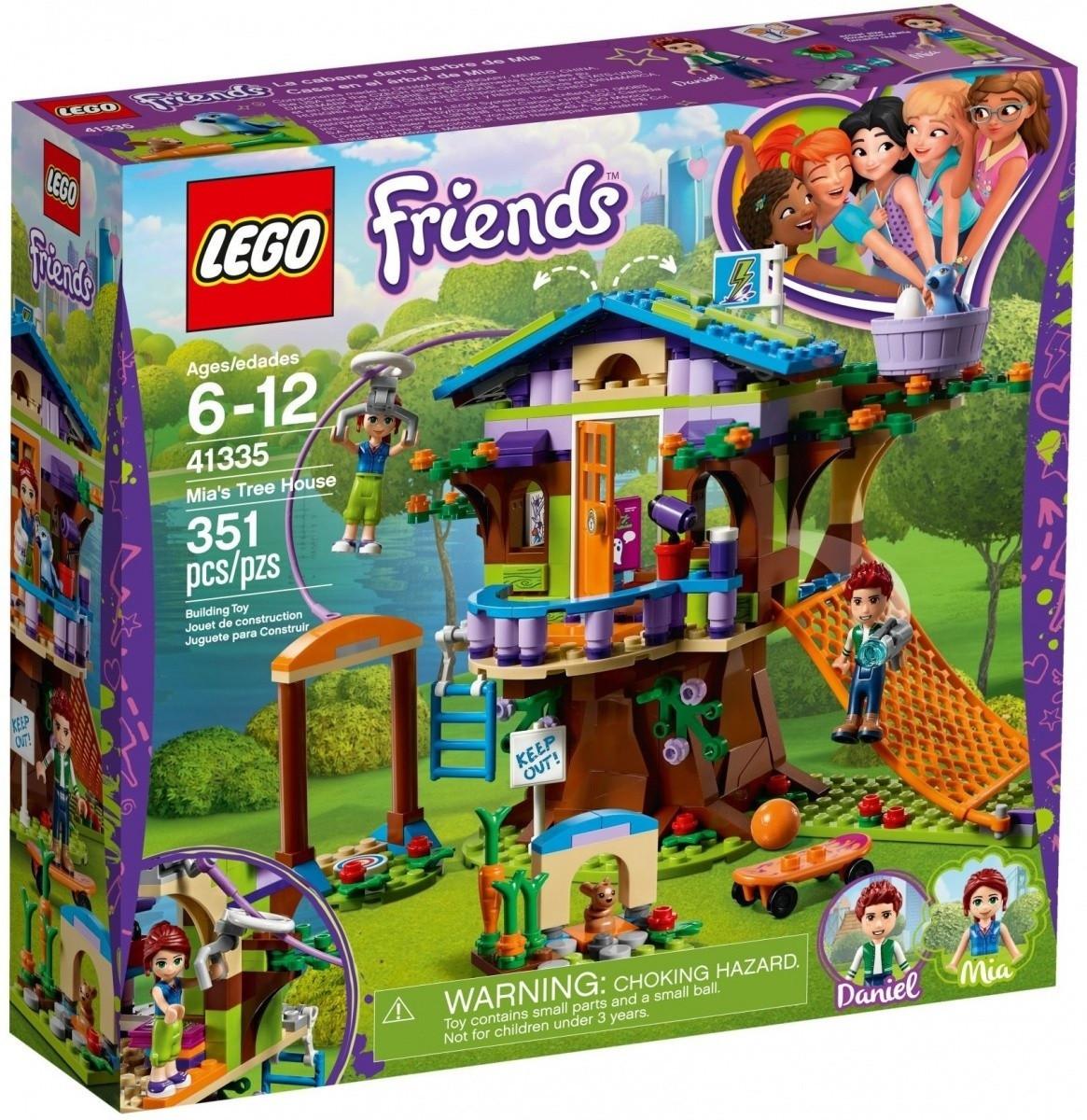 LEGO FRIENDS Domek na drzewie Mii 41335, odbiór Carrefour 0 zł (na www i stacjonarnie)