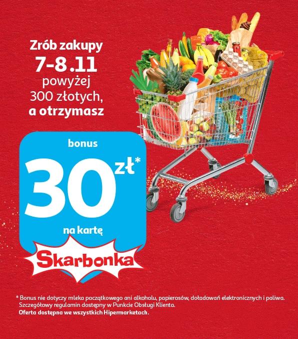 Zgarnij 30 zł na Skarbonkę! (MWZ 300) @Auchan