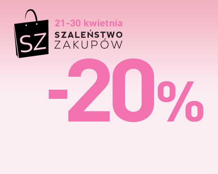 20% rabatu na wybrane modele obuwia @ WOJAS -20%