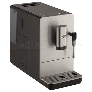 Ekspres ciśnieniowy automat. BEKO CEG5311X, stalowy młynek żarnowy, 19bar, 1350W, spienianie mleka