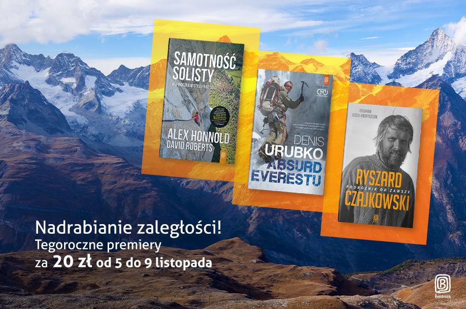 Książki podróżnicze wydane w 2019 po 20 zł @ Bezdroża
