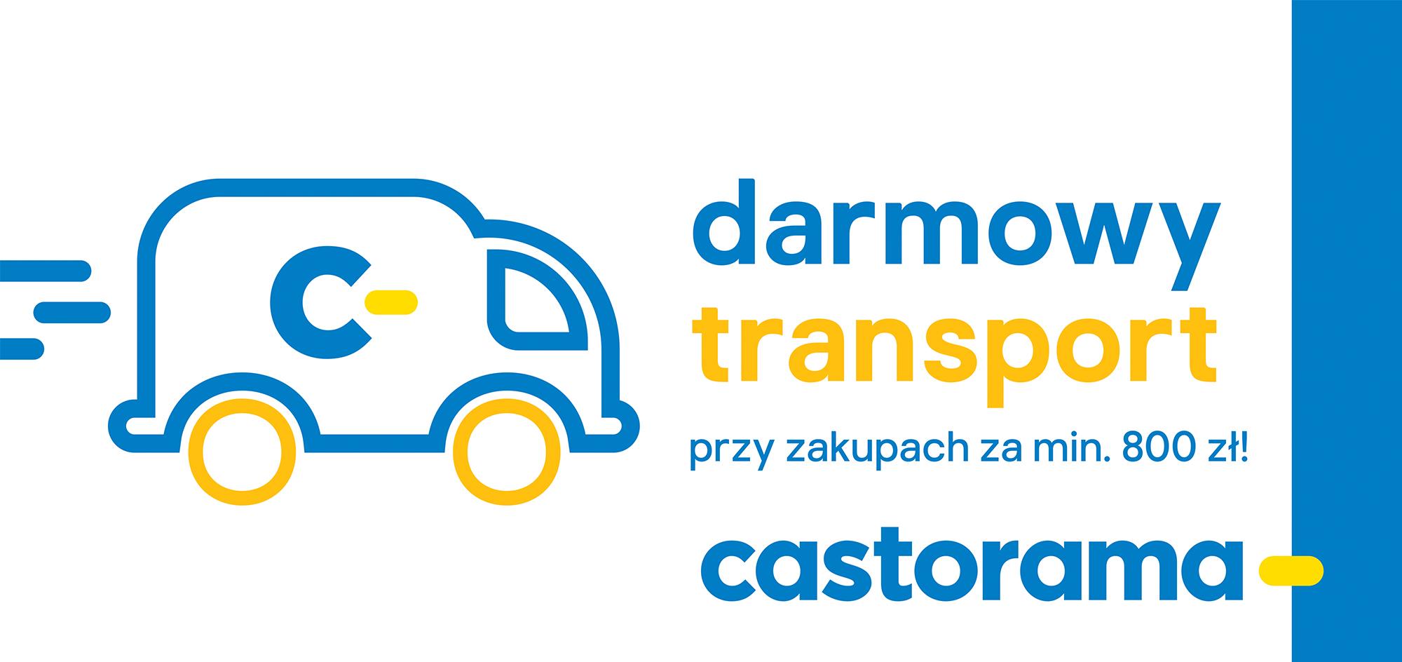Darmowy transport przy zamówieniach online i stacjonarnie