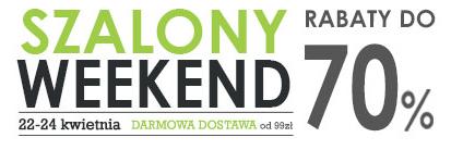 Szalony weekend do -70% w Agito.pl