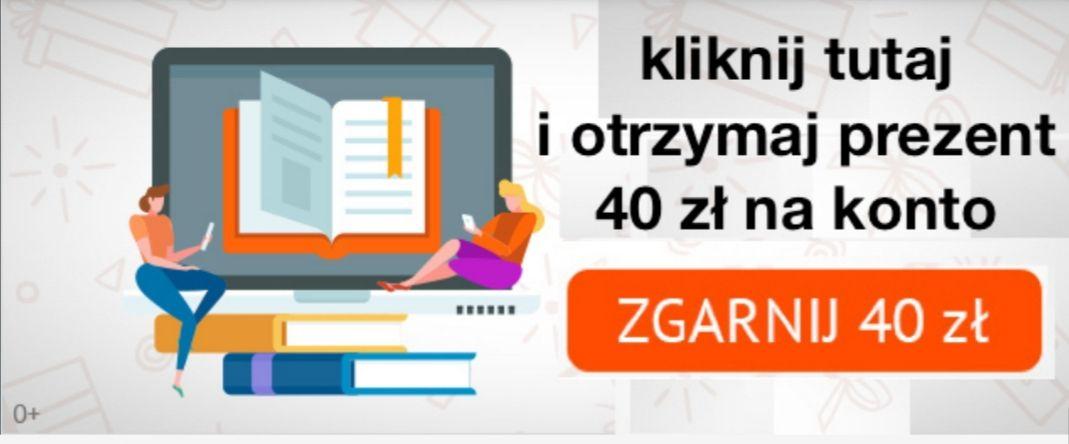 40 zł w aplikacji litres.pl