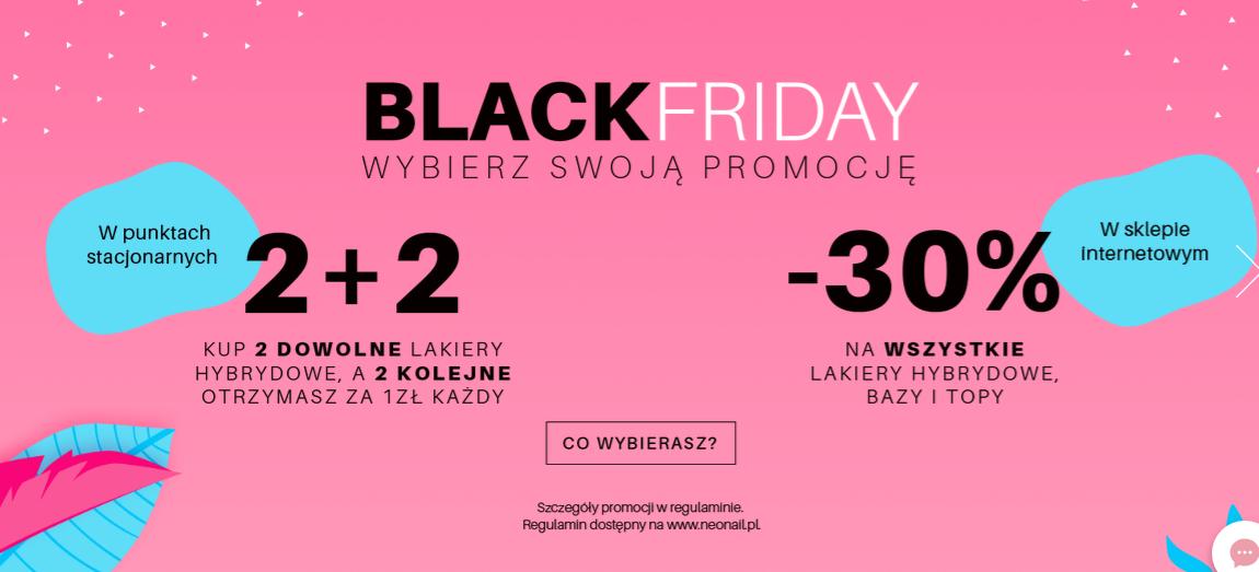 Lakiery hybrydowe - 2+2 gratis (stacjonarnie) lub -30% (online) @ NeoNail