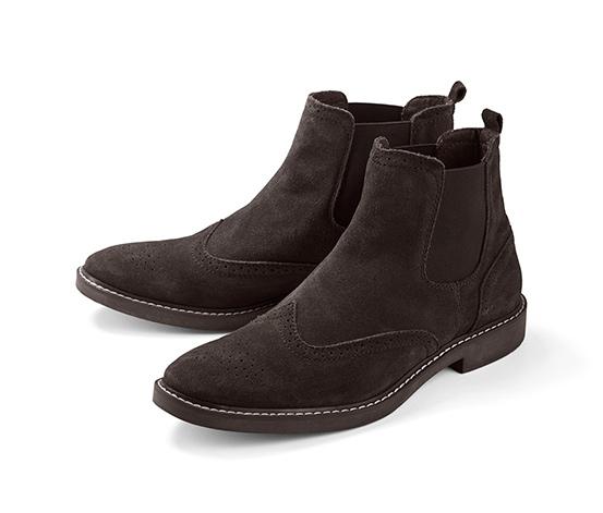 Męskie, welurowe buty za 159,99zł z darmową dostawą (r.41-46) @ Tchibo