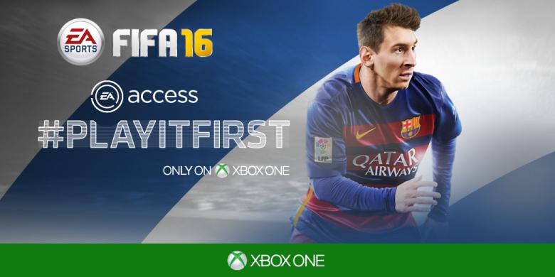 Fifa 16 za Darmo w ramach Ea Access i Origin Access.