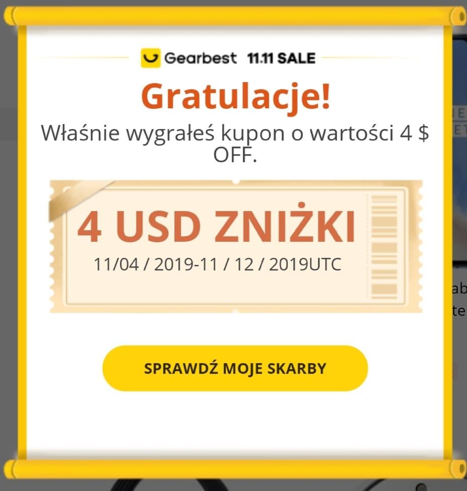 Gearbest - wyszukaj i wygraj kupon