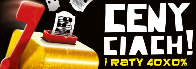 Ceny ciach i raty 40x0% @ RTV Euro AGD