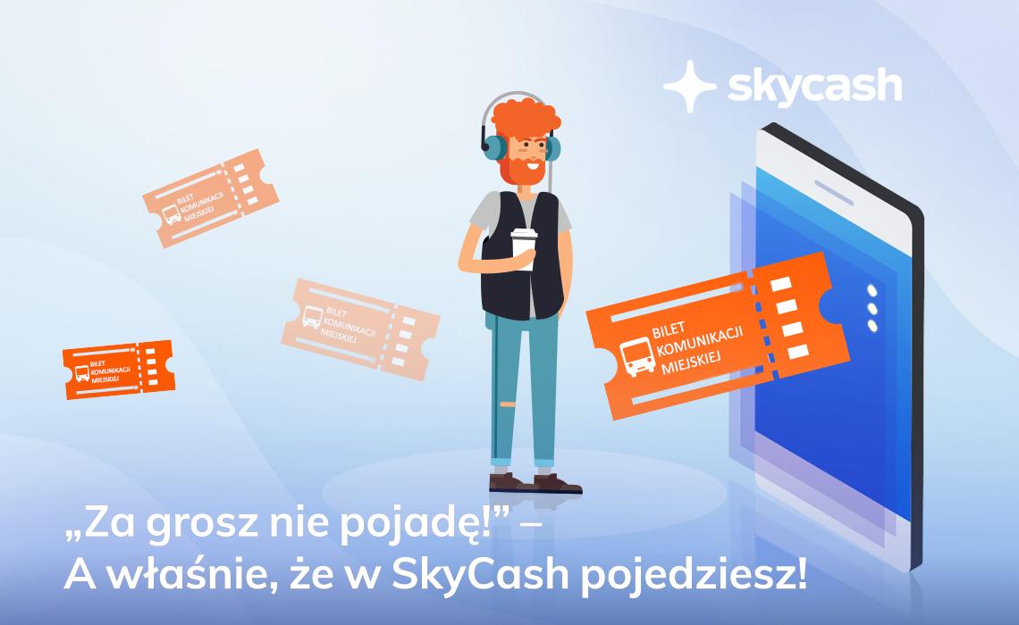 [Skycash] 2 bilety komunikacji miejskiej za 2gr (klienci Orange)