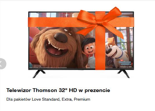 W Orange Love, na święta, telewizor w prezencie