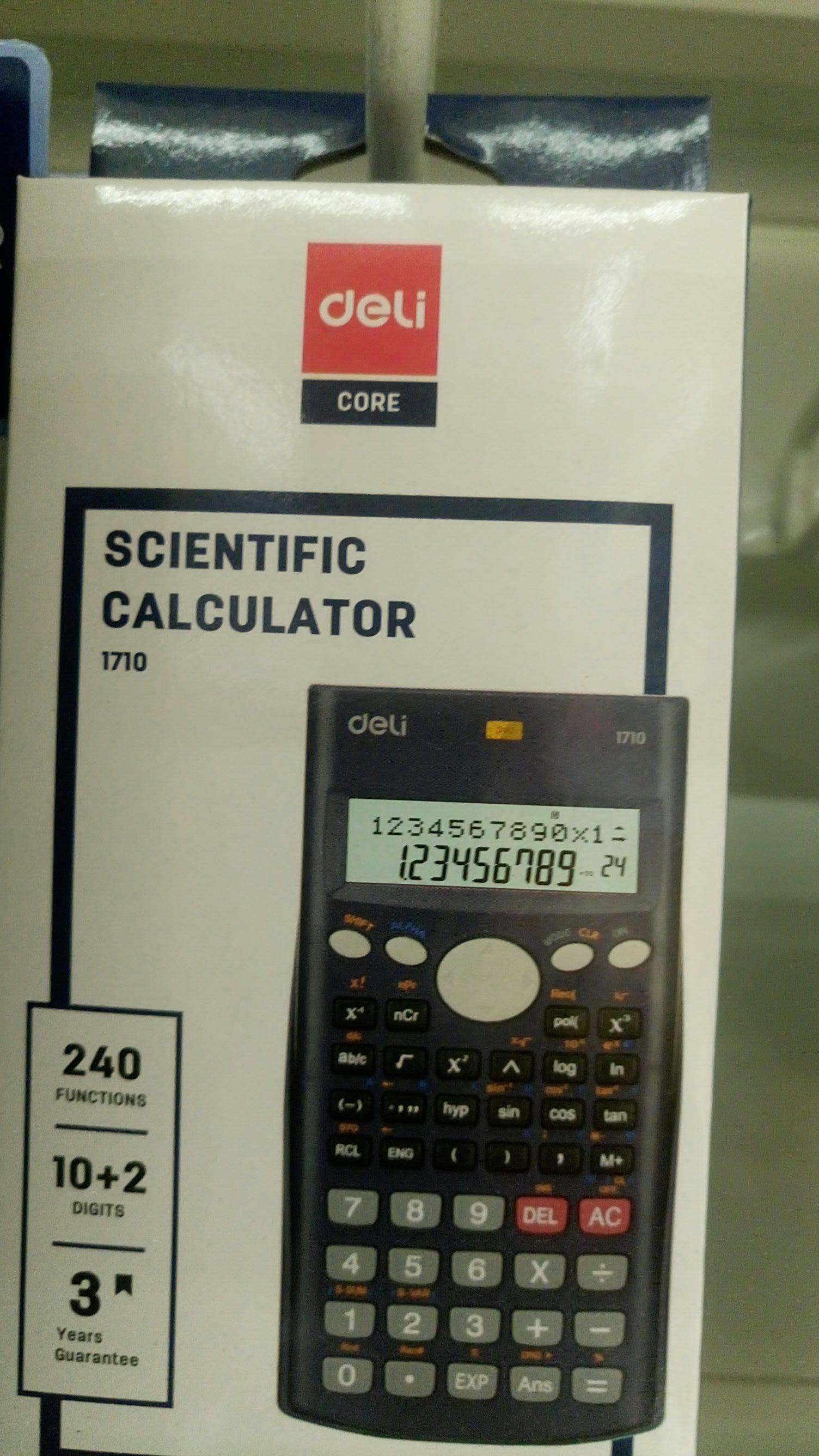 Kalkulator naukowy deli, 240 funkcji Tesco