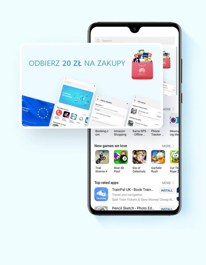 20 zł na zakupy na Huawei.pl przy MWZ 21 zł! (dla posiadaczy Huawei)