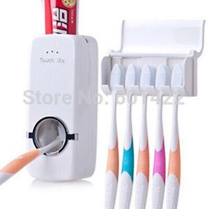 Automatyczny dozownik pasty do zębów + zawieszka na szczoteczki ----> ok 13pln @aliexpress