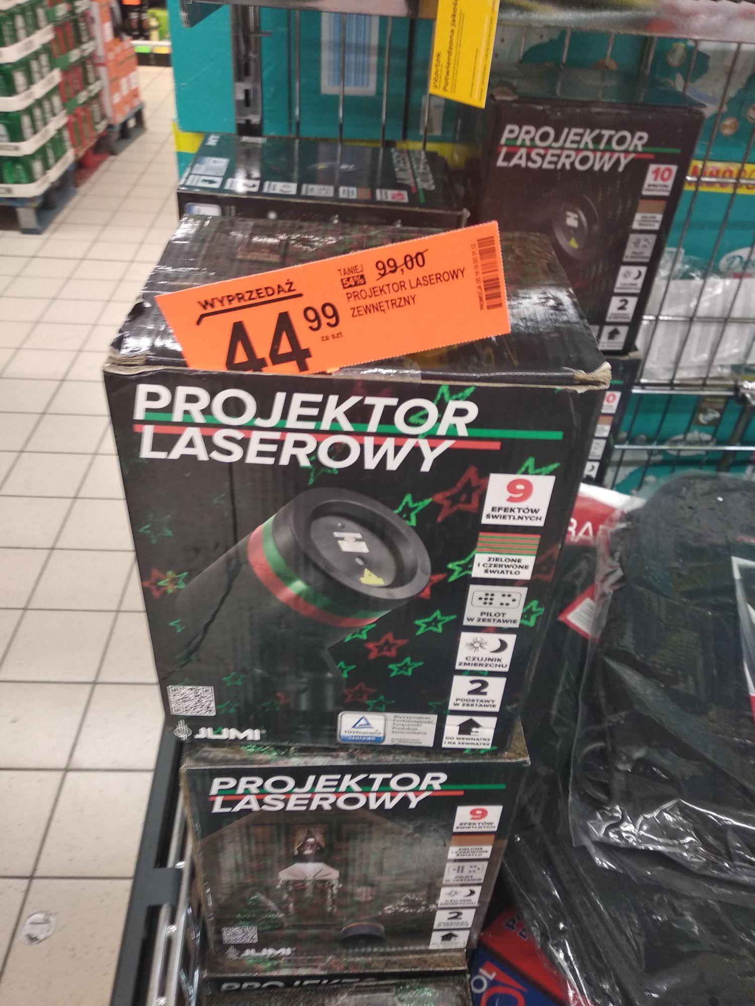 Projektor laserowy zewnetrzny biedronka