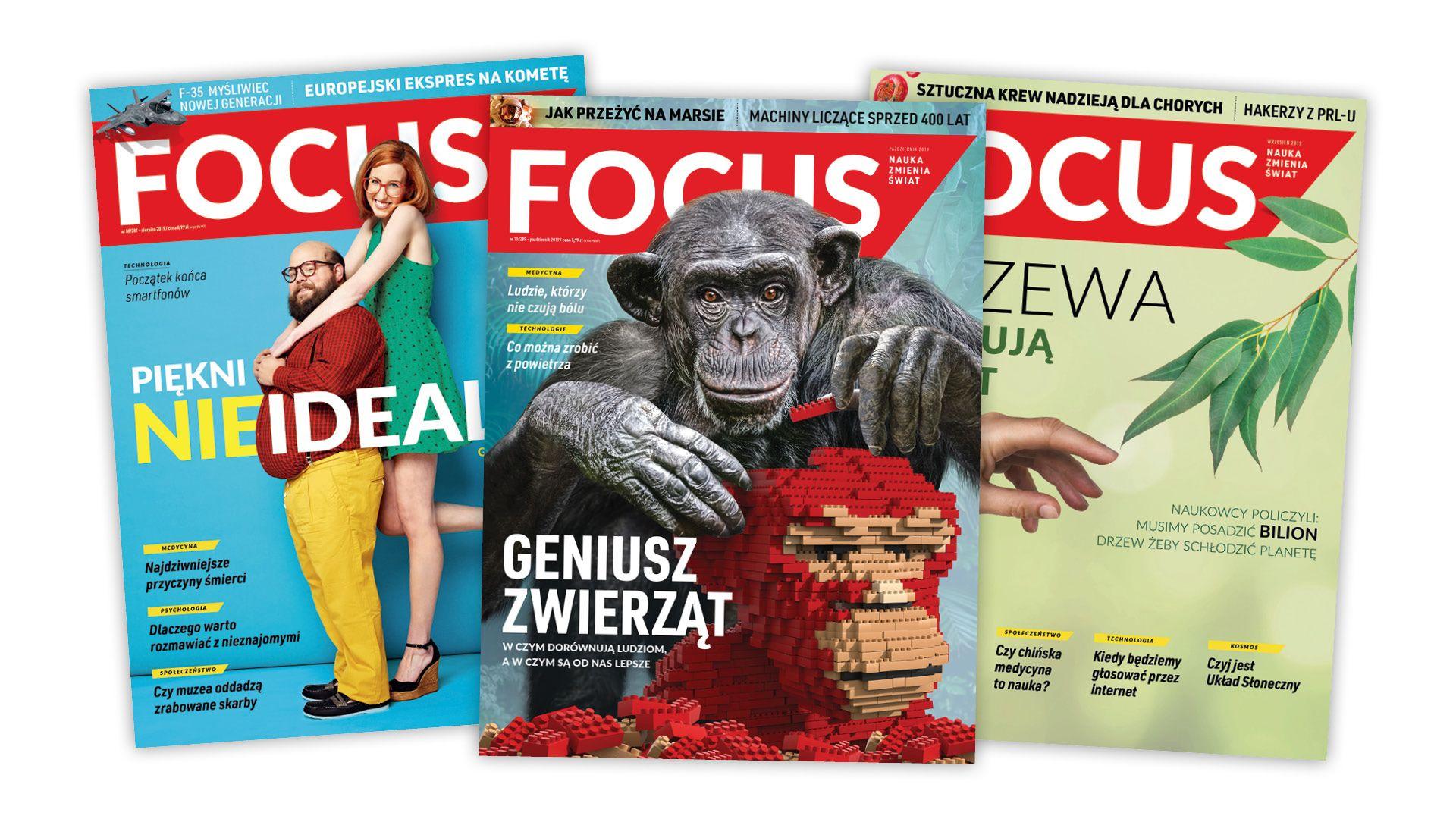Roczna prenumerata magazynu Focus