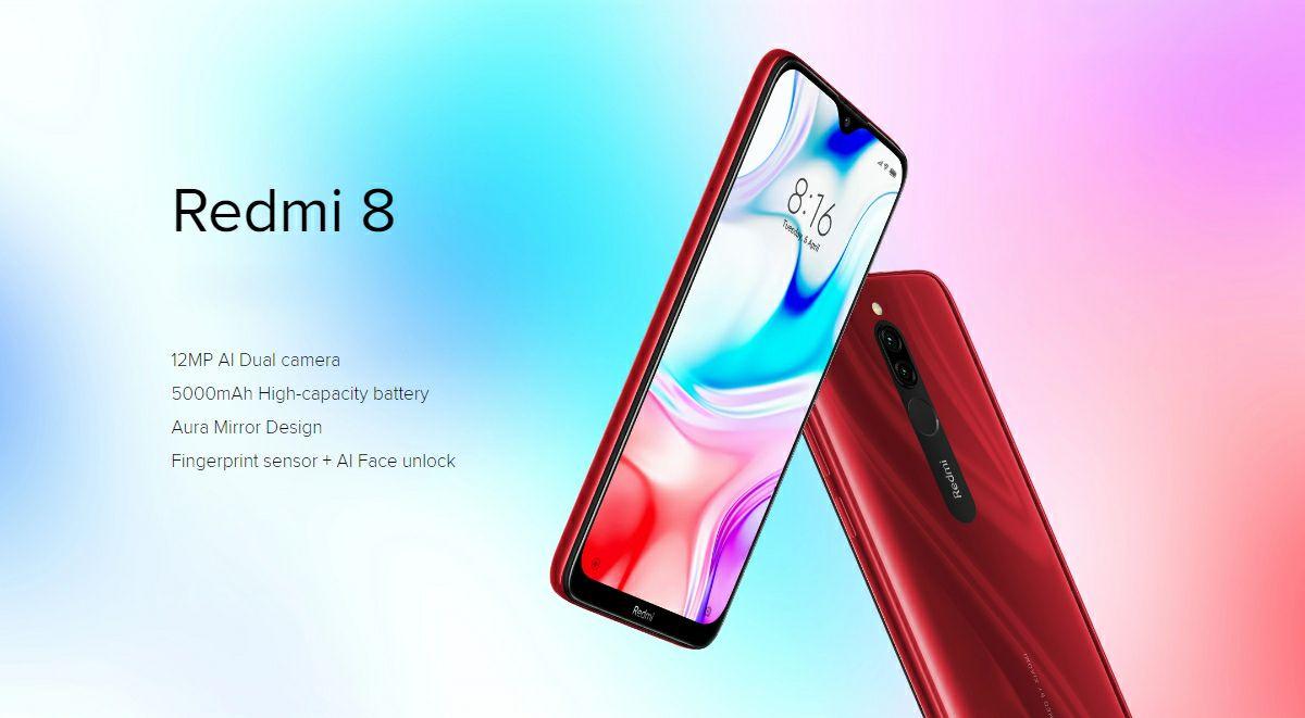 Xiaomi Redmi 8 Global version (3GB+32GB)