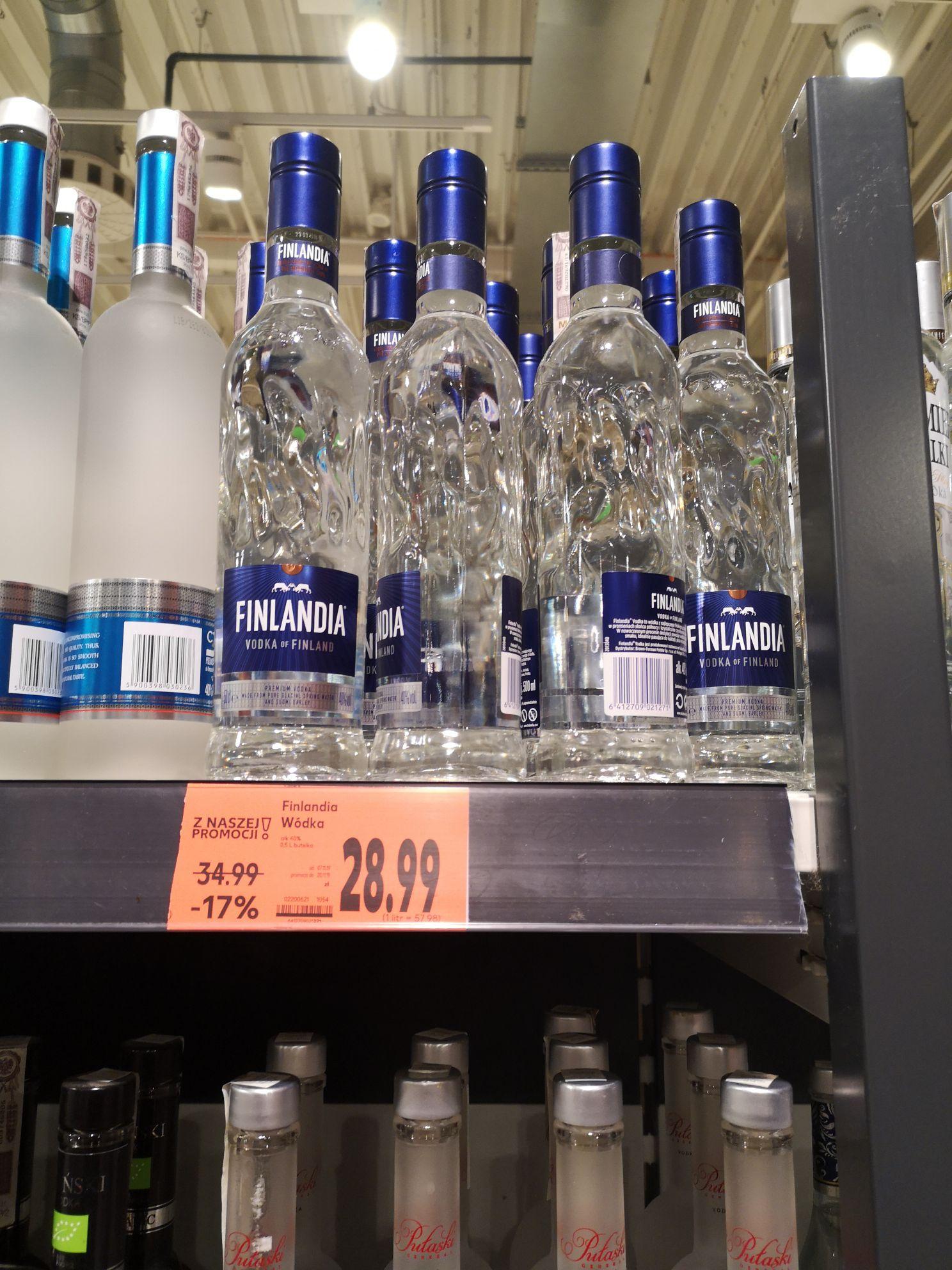 Wódka Finlandia 0.5 czysta - Kaufland
